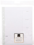 DCWV Moment Maker Planner System Inserts-Weekly Pages