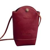 LILICAT Women Messenger Mini Bags Slim Crossbody Shoulder Bags Handbag Small Body Bags Cellphone Pouch