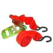 2.5cm x 4.6m Ratcheting Web Cargo Tie Hold Down Strap