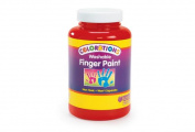 Colorations Washable Finger Paint, Red - 470ml