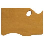 New Wave - Highland Hand Held Palette - Finished Wood - Left Hand