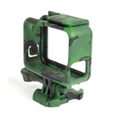 Tactical Camouflage Frame Mount Protective Housing Case With Side Open Mount Shell Cover For GoPro Hero 5 Action Camera Accessories