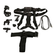 Accessory Kit for GoPro Hero Cameras Support 6 in 1 Multi Sports Brackets