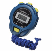 Sports Watches Digital Professional Handheld LCD Chronograph Sports Stopwatch Timer Stop Watch Clock with Alarm Feature for Swimming Running Football