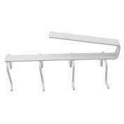 CHIC*MALL 1 pcs Kitchen Cup Holder Hang Cabinet Shelf Storage Rack Organiser 8 Hooks Mug Holder