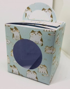Cat Themed Cup Cake Boxes x6