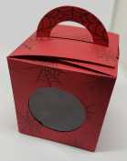 Spider Man Inspired Cup Cake Boxes x6