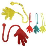 HUHU833 5Pcs Sticky Hands Palm Party Favour Toys Novelties Prizes Birthday Gift