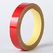 Etbotu 5M/Roll Car Joint Reflective Safety Warning Tape Solid Colour Stripe Stickers for Truck Car Motorcycle Guardrail