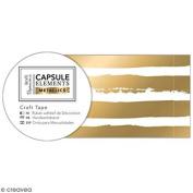 METALLICS CRAFT TAPE 3M - GOLD STRIPE