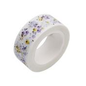 Gluckliy Flowers Washi Tape Decorative Masking Tape Adhesive Tape Scrapbooking Sticker Paper DIYCraft Gift