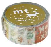 mt masking tape mt Christmas Print Illustration Washi Masking Tape
