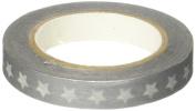 Doodlebug Design Stars Washi Tape, Silver