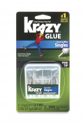 Krazy Glue KG82048SN Instant Crazy Glue Home & Office 4-Single Use Tubes of 0ml