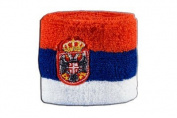 Digni® Serbia with coat of arms Wristband / sweatband