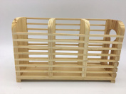 Bamboo Wood Cutlery Rack Spoon Silverware Utensil Fork Holder Kitchen Storage Organiser