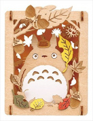 ensky Studio Ghibli Movie My Neighbour Totoro Paper Theatre (Autumn Komorebi) PT-W01