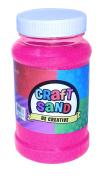 Colourful Craft Sand - Choose A Colour Black, Blue, Orange, Pink, Green, Purple, Red, White