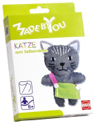 Busch Made by You 13041 Keyring Cat Childrens Craft Kit