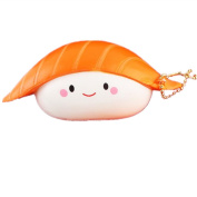 Hmlai Cute Sushi Scented Squishies Jumbo Slow Rising Squishy Scented Squeeze Sushi Stress Relief Toys