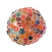 Gocheaper Spongy Rainbow Ball Toy,Stress Relief Ball For Fun Squeezable Stress Squishy Toy