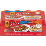 Purina ALPO Gravy Cravers Beef & Chicken Variety Pack Adult Wet Dog Food - (12) 390ml Cans