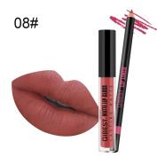 Native99 Matte Liquid Lipstick Waterproof Durable Moisturising Long Lasting Beauty Lip Glosses Lip Liner Set