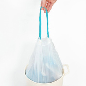 Drawstring Trash Bags,Fresh Clean drawstring thickened point-breaking pouch PE automatic trash bag