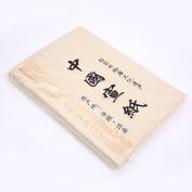 HM004 Hmay Single layer Raw Xuan Paper 100 Sheets (68 x 34 cm) (26.8 x13.4 in)