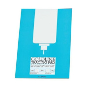 Goldline Popular Tracing Pad 63gsm 50 Sheets A4 Ref GPT2A4Z Pack 5 122426