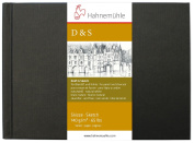 Hahnemuhle Draught & Sketch 140gsm Black Hardcover Sketch book 125 x 90mm