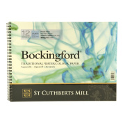 Bockingford Spiral Pad - 12x9in (31x23cm) NOT