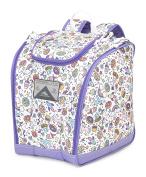 High Sierra Junior Trapezoid Boot Bag, Sweet Cakes/Lavender/White