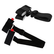 Baoblaze 2 Pcs Quality Adjustable Nylon Skis Shoulder Carrier Lash Handle Straps - Practical Accessories