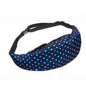 Chest Bag, Fcostume Sports Hiking Running Belt Waist Bag Pouch Zip Fanny Pack