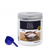 Epsom Salt NortemBio 800g, Concentrated source of Magnesium, 100% Natural Salt. Bath and Personal Care.
