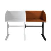 Balt Lumina Wood Adjustable Height Study Carrel