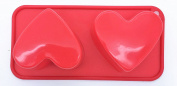 Swan household ® - 2 Large Valentines Day Love Heart Moulds