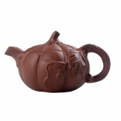 Homyl Handmade Mini Xishi Tea Pot Chinese Kungfu Pot Tea Zisha Purple Clay Teapot - A, as described