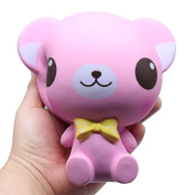 Stress Reliever Toys, Sacow Cartoon Big Eye Bear Squishy Toy Slow Rising Vent Toys Cream Scented Decompression Toys
