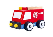 Tooky Toy Fire Engine Children Toys