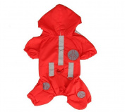 Kelaina Puppy Dog Hoodie Coat Waterproof Pet Dog Raincoat Rainwear