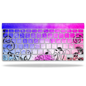 Skin Decal Wrap for Apple Wireless Keyboard Rise And Shine