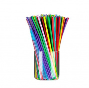 Wicemoon 100 Pcs Straws Drinking Straws Hen Party Favours Decoration Naughty Gifts Night Party Accessories