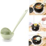 Bureze 2 In 1 Kitchen Supplies Spoon Colander Kitchen Tools