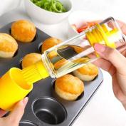 Etuoji Oil Brush Bottle Set Silicone Cooking Baking Basting BBQ Pancake Kitchen Tool