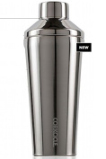 Corkcicle Shaker-Triple Insulated Sweat-Proof bar & Cocktail Shaker, 470ml, Brushed Steel