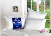 Luxury Hotel Quality Quilted Pillows 100% Cotton 2,4,6,8 and 10 Packs Available