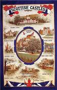 Scottish Castles Tea Towel - Scotland