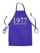 Limited Edition 1977 - Unisex Adult Fit Apron - 5 Colours - 41st Birthday